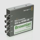 BLACKMAGIC DESIGN  QUAD HDSDI - HDMI 1.4 CONVERTER  Hire London, UK