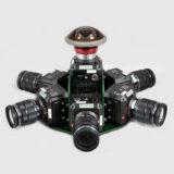 BROWNIAN Z-CAM E2 7- WAY 360 ARRAY RIG VFX Hire London, UK